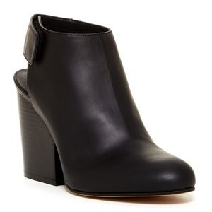 "VINCE. ""Ingrid"" Leather Bootie"